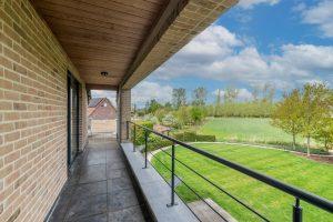 terrasse maison d'hôtes aéroport bruxelles SweetHome Barebeek B&B